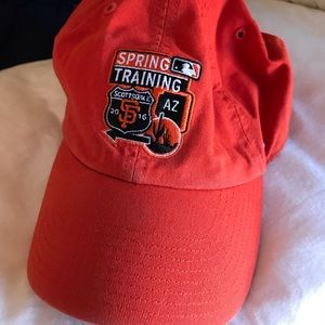 Orange Spring trading baseball cap!